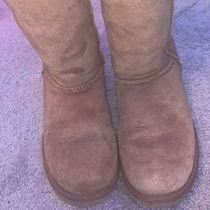 size 6 women's brown ugg's TAKING OFFERS